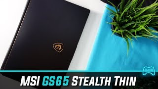 MSI GS65 Stealth Thin - My Honest Review (2018)