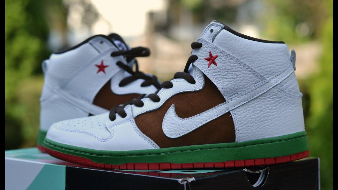 buy online 05d2f 3908e Nike SB Dunk High - Pecan   White