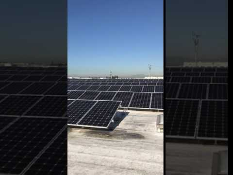 Commercial Solar panels installation in commerce ,CA - 3