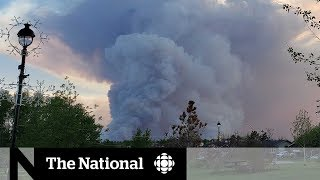 On the front line in the fight against Alberta's out-of-control wildfire