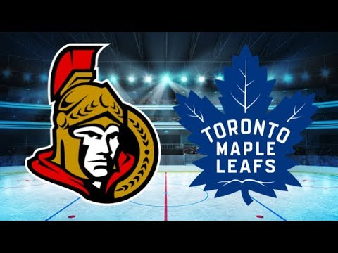 Ottawa Senators vs Toronto Maple Leafs (3-6) – Feb. 10, 2018 | Game Highlights | NHL 2018