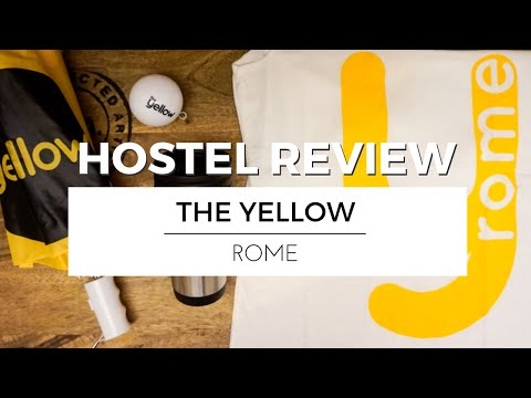 Visiting ROME with THE YELLOW | HOSTEL REVIEW TRAVEL VLOG