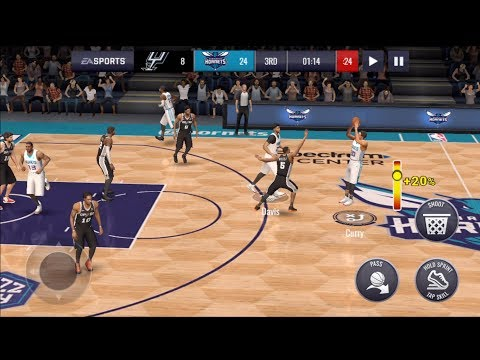 NBA LIVE MOBILE 19 | 87 OVR LEVEL 4 HARVEST MASTER STEPH CURRY GAMEPLAY MUST WATCH!!!