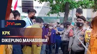 Gedung KPK Digeruduk Mahasiswa, 10 Menit Kemudian… - JPNN.com
