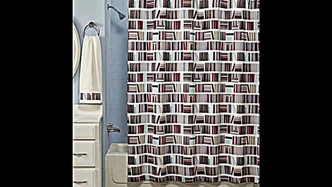 Dusch Vorhang schön dekorieren -- originelle Ideen zum Selbermachen ...