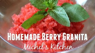Homemade Berry Granita - Show 30