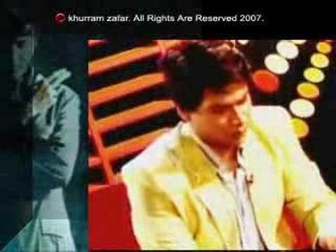 Khurram Zafar with Humayun Sayeed (Actor) and Ali Haider