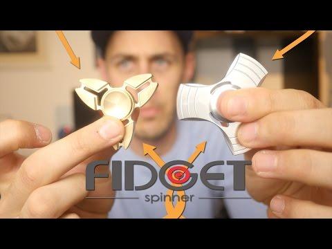 Testar olika Fidget Spinners
