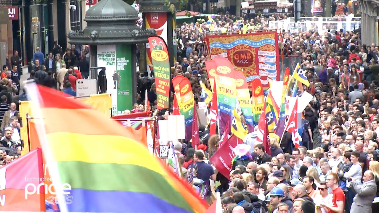 from Hank gay pride birmingham