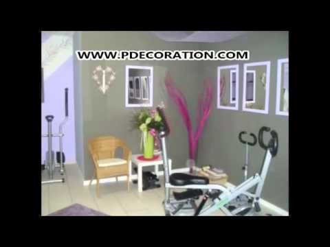 decoration salle de sport photos decoration maison youtube. Black Bedroom Furniture Sets. Home Design Ideas
