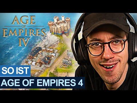 Ich darf WELTEXKLUSIV Age of Empires 4 spielen!