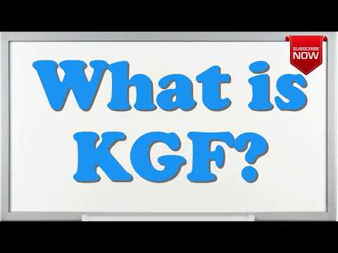 What Is The Full Form Of Kgf Youtube