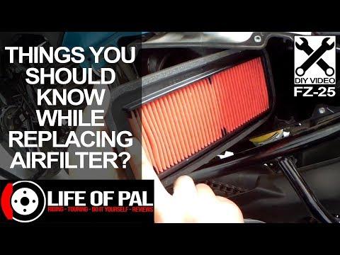 Air Filter Replacement | FZ25