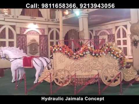Jaimala Theme Hydraulic Revolving Stage Concepts