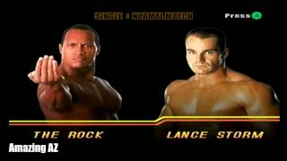 WWE Wrestlemania X8 - Path of Champions Playthrough WWE Undisputed Championship (The Rock)