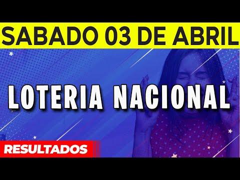 Resultados Loteria Nacional De España Del Sábado 3 De Abril Del 2021