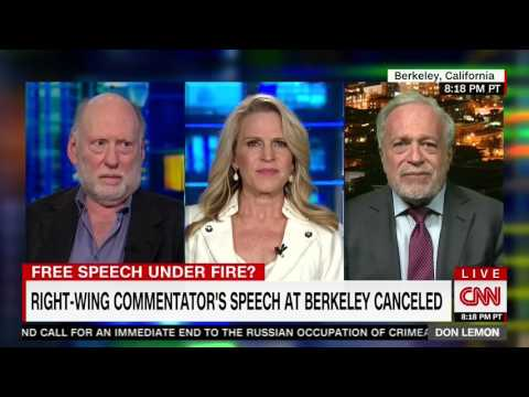 CNN guest claims Berkeley rioters were 'right wingers'