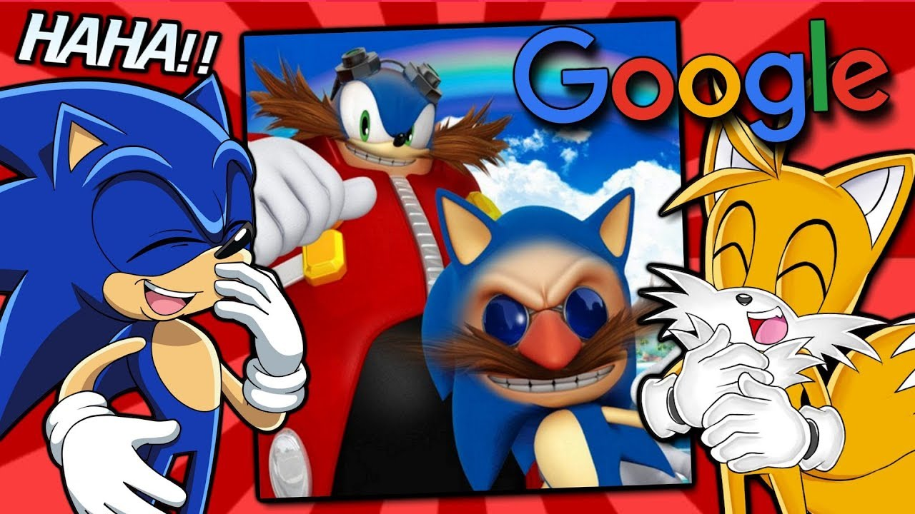 Sonic And Tails Google Sonic Memes Youtube
