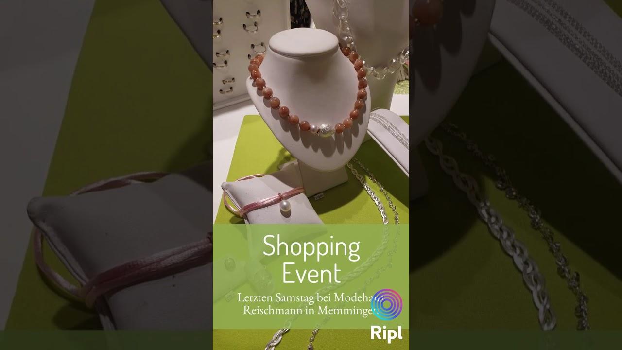 Gemeinsames Shopping Event mit dem Modehaus Reischmann