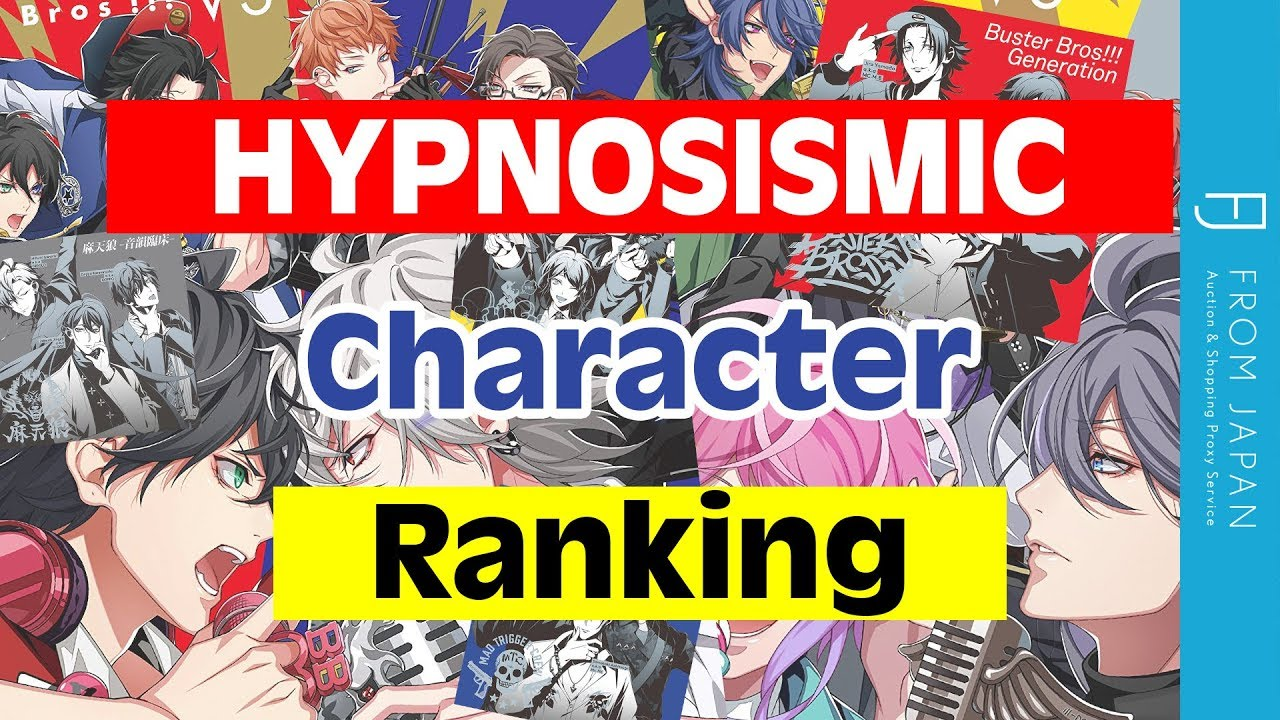 Hypnosis Mic Character Ranking: Top 10 Most Popular | FROM JAPAN