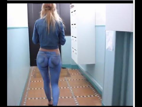 Mujer de grandes nalgas sin calzon youtube calz 243 n for Chicas en ropa interior sexi