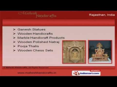Wooden Marble Handicrafts By Mahesh Handicrafts Jaipur Youtube