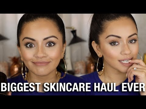 BIGGEST SKINCARE HAUL... EVER!