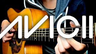 Hey Brother - Avicii (Solo Acoustic Guitar) Eddie van der Meer + Tab