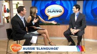 Slanguage in Australia   Mark McCrindle on The Morning Show