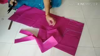 Dress cutting/ పంజాబి డ్రెస్ టాప్ కటింగ్.