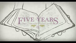 5 Year Anniversary Animation and Video