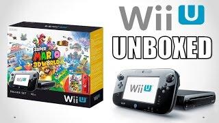 Wii U Unboxing! (Super Mario 3D World Bundle)