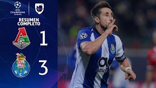 Lokomotiv 1-3 Porto - GOLES Y RESUMEN - Grupo D UEFA Champions League