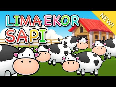 Lagu Anak Indonesia | Lima Ekor Sapi