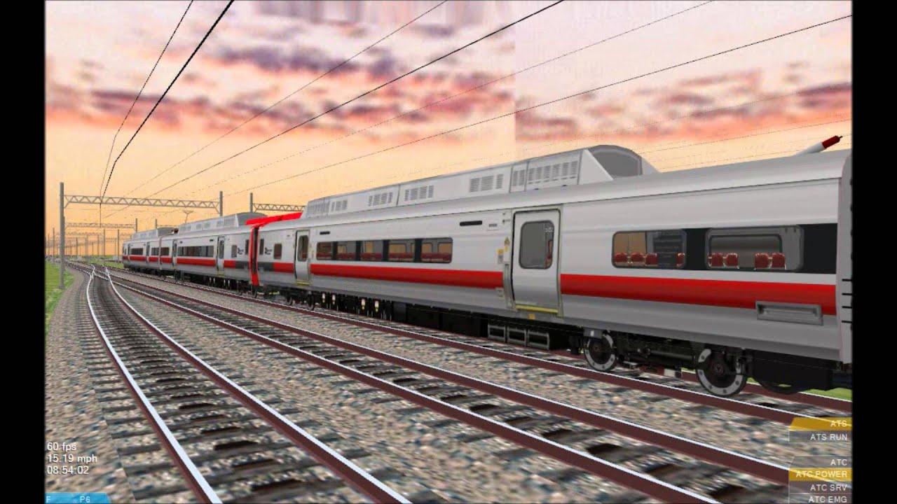 openbve hd metro north railroad 12 car kawasaki m8 electric multiple unit train youtube. Black Bedroom Furniture Sets. Home Design Ideas