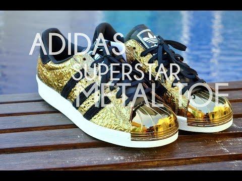Adidas Superstar 80's Metal Toe Gold