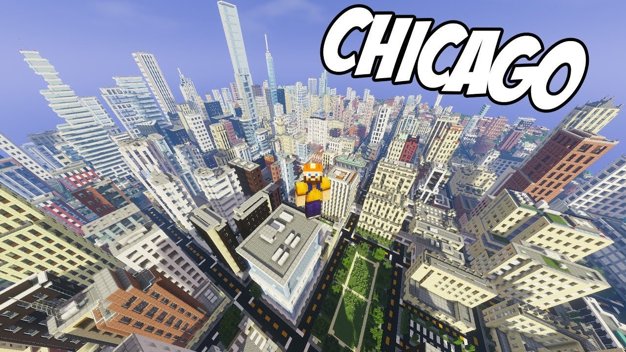CHICAGO ŞEHRİ !!! | Minecraft Yapıları