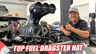 homepage tile video photo for We Got a TOP FUEL Dragster Hat For Our Supercharged Camaro Because AMERICA!!! (can flow 11,000hp)