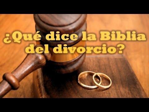 Jesús y el divorcio.