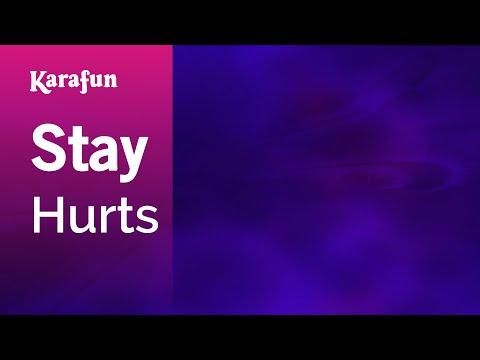 Karaoke Stay - Hurts *