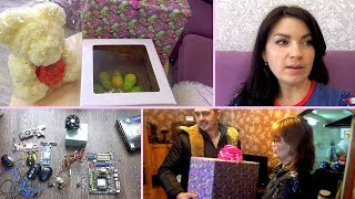 VLOG : Играем в магазин / ДР свекрови. Подарок / Мама Вика