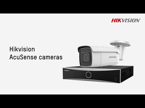 Hikvision AcuSense Cameras Performance Demo