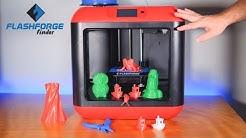 FlashForge Finder - 3D Printer - Setup & Review