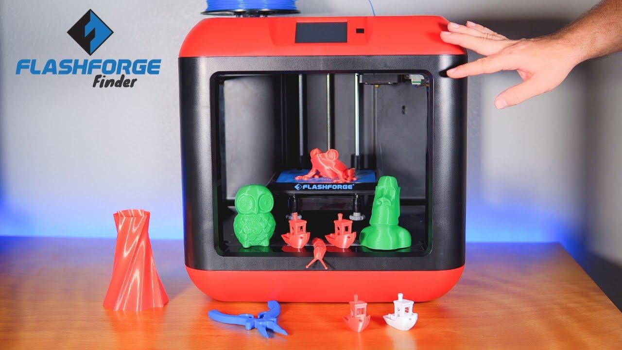 video FlashForge Finder 3D Printer