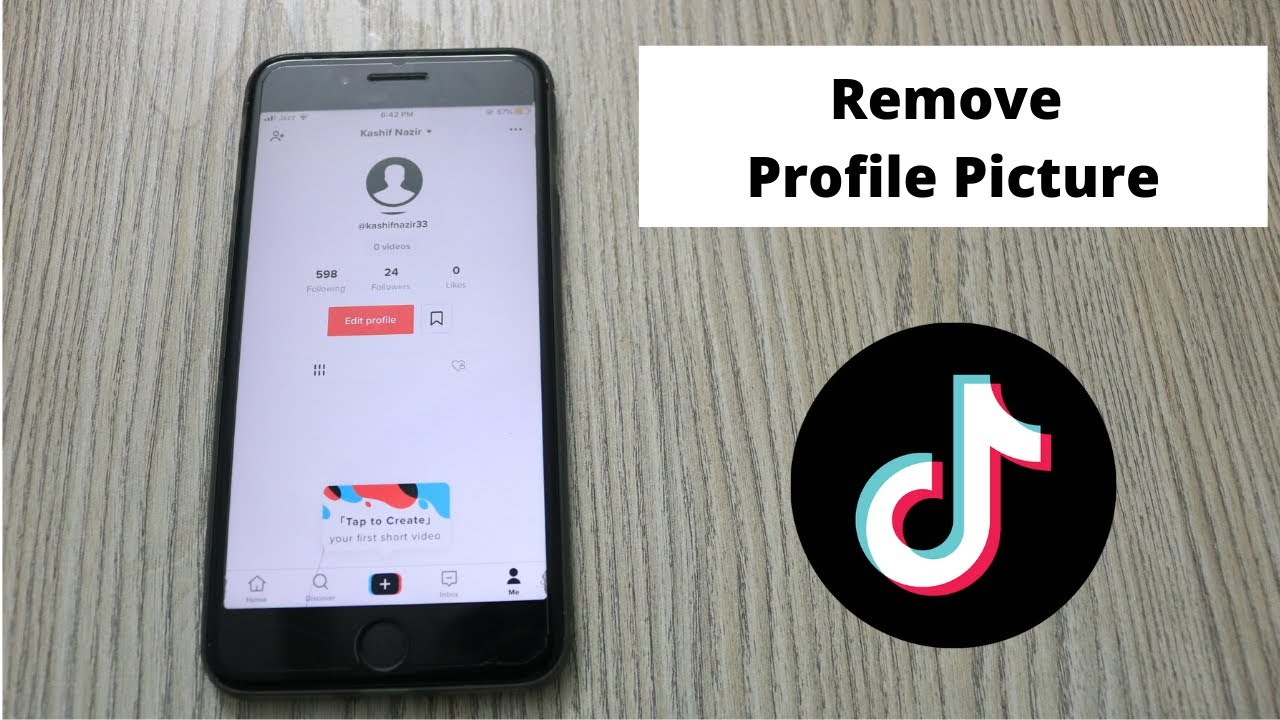 How To Remove Profile Picture On Tiktok On Phone 2021 Youtube