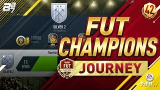FUT CHAMPIONS JOURNEY! GRINDING! #42   FIFA 17 ULTIMATE TEAM