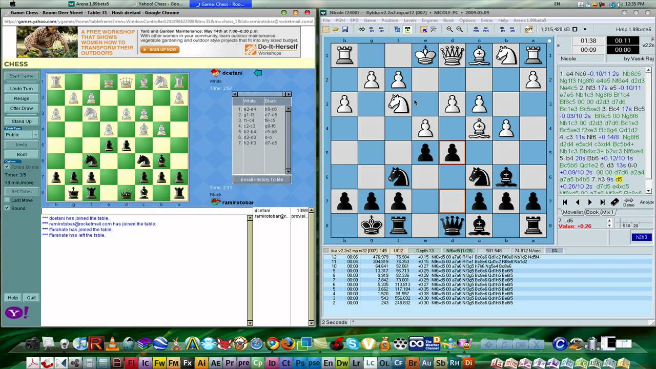 How to Cheat on Chess with Rybka Engine (HD) - YouTube