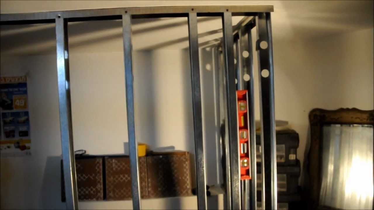 ריאליטי שיפוצים - פרק ארבע עשר - איך לבנות קיר גבס ?