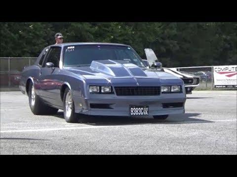 1985 Chevy Monte Carlo Ss Gbody Ecp Legends Mdir Race Drag Track