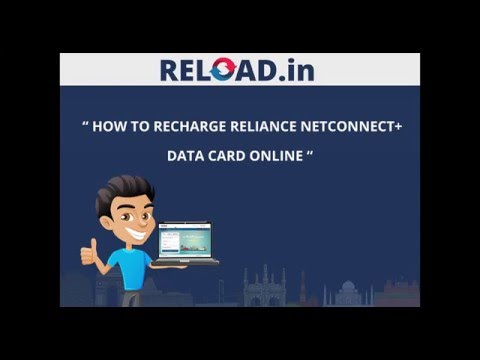 Reliance dongle recharge